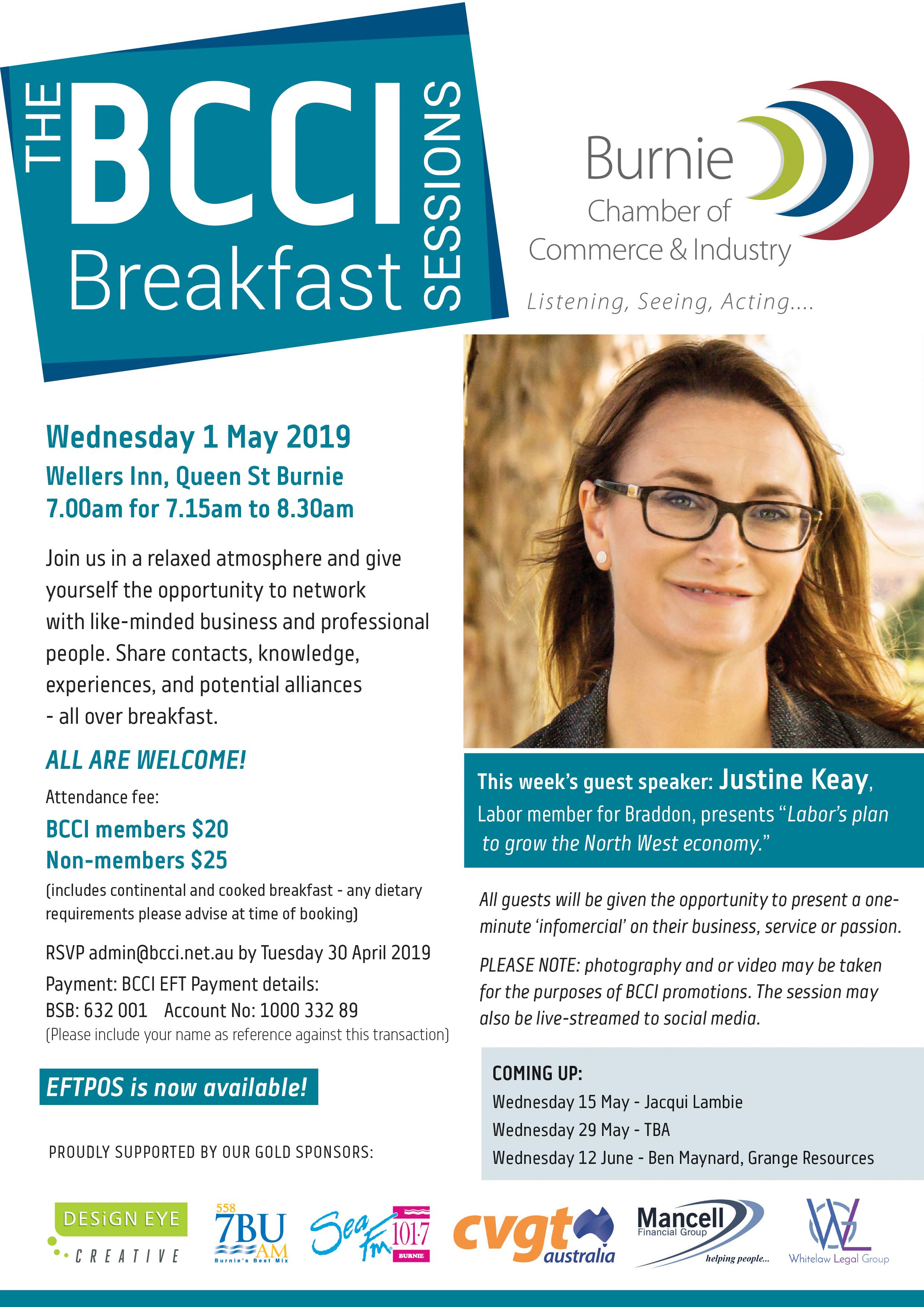 Justine Keay breakfast
