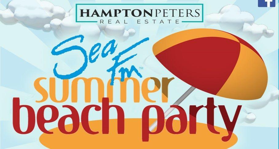 SeaFM beach party FEB 1