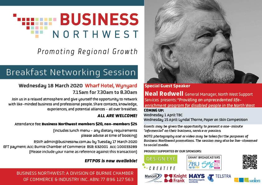 4 BNW breakfast 18 March 2020 neal rodwell